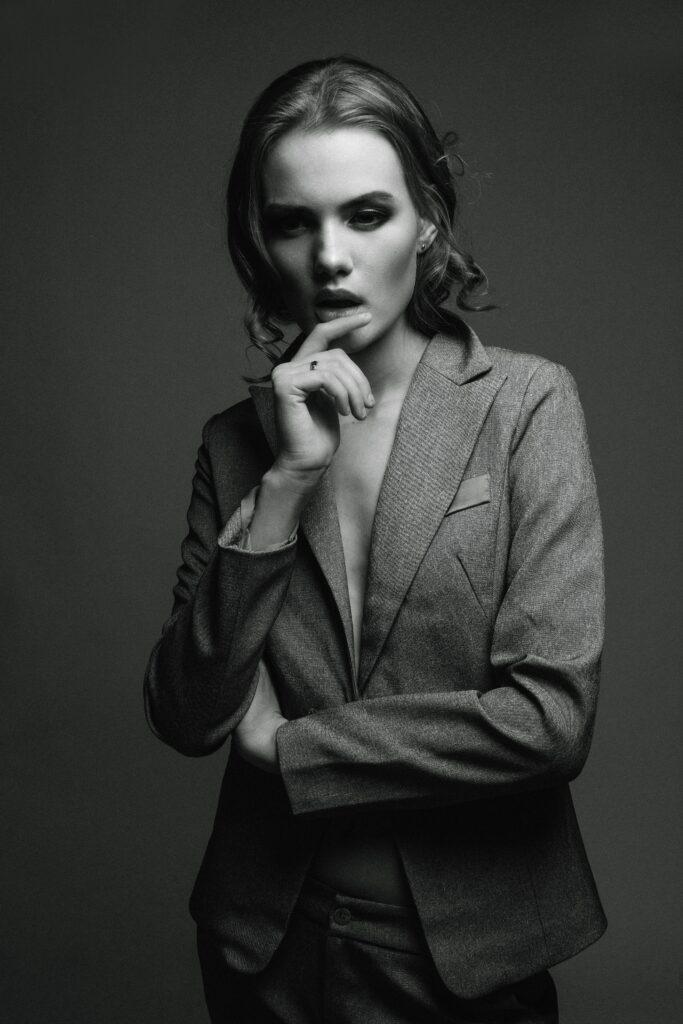 Komplet jakkesæt til kvinder